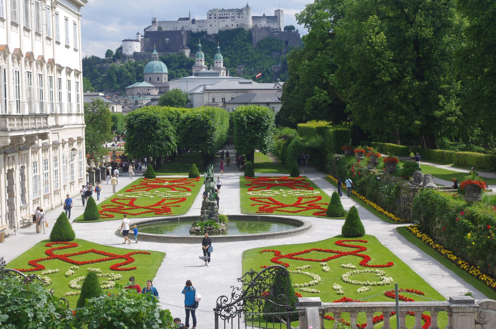 喜歡大自然: 奧地利--薩爾斯堡--米拉貝爾花園Mirabellgarten