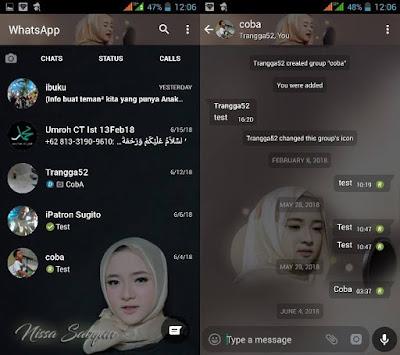 WhatsApp Mod Nissa Sabyan v2.18.195