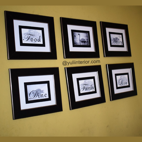 Custom Gallery Wall Frames
