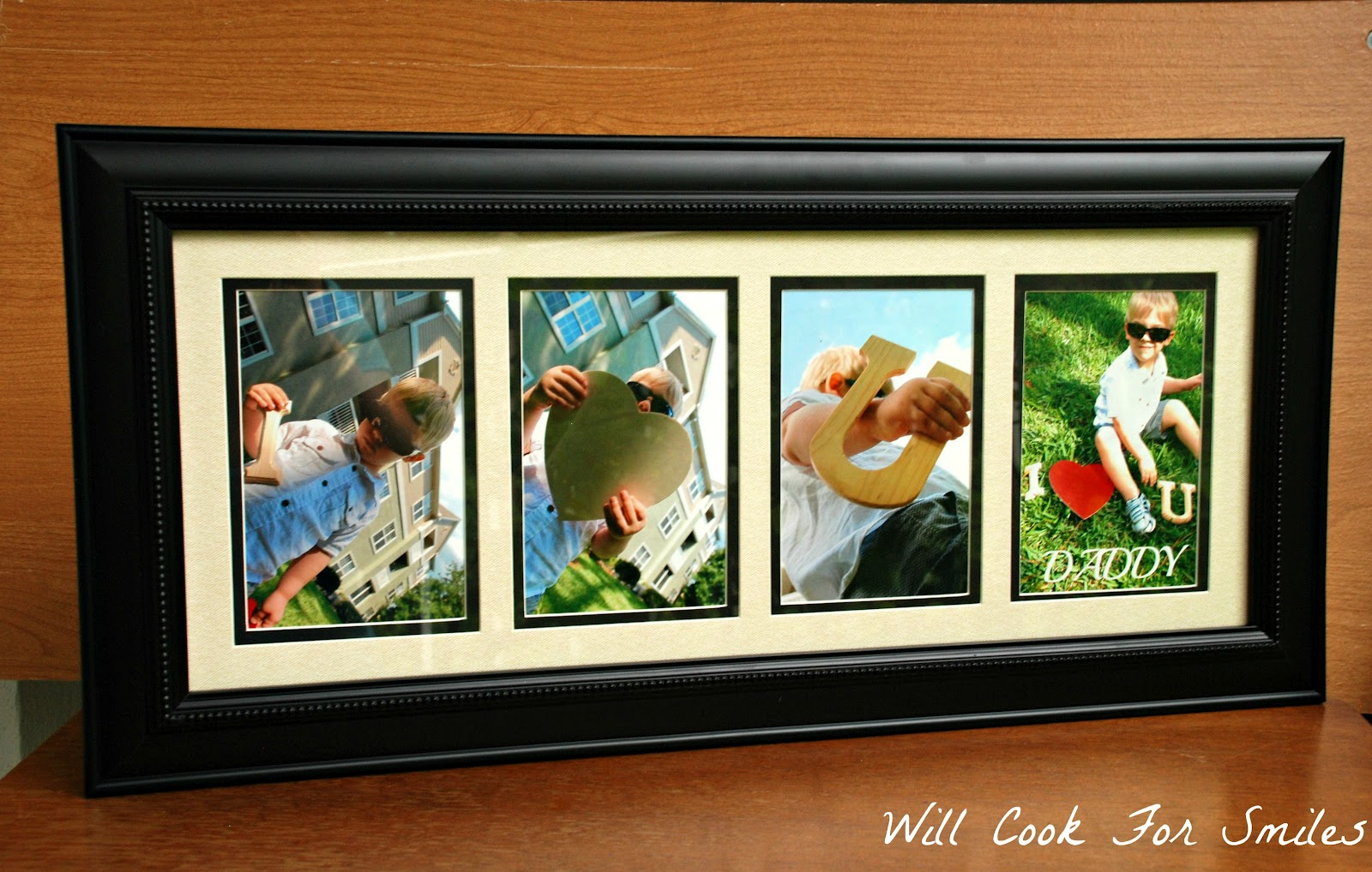 Our Father Day Gift I Love You Daddy Picture Frame Will Cook