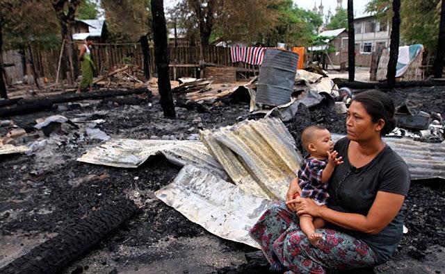 Masjid Diserang, Umat Islam di Pedesaan Myanmar Makin Khawatir