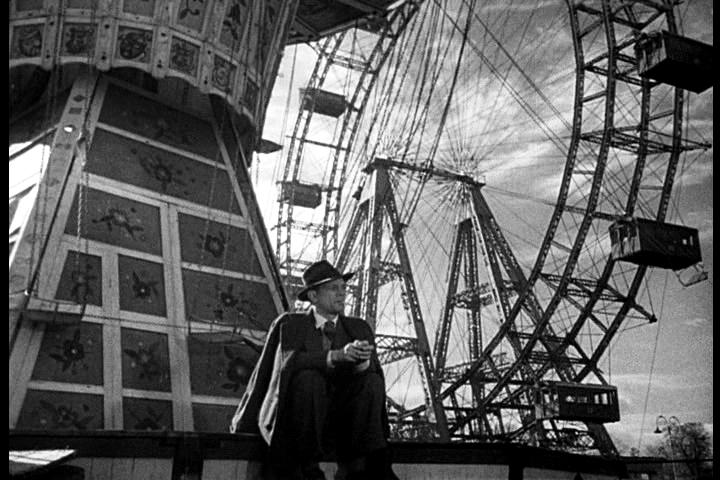 Joseph Cotten Ferris Wheel The Third Man 1949 Joseph Cotten Orson Welles