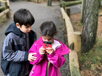 Children playing Pokemon Go