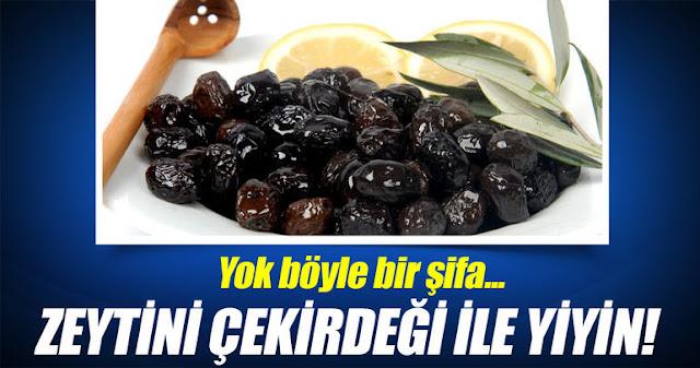 Zeytin çekirdeği yemenin faydaları Nelerdir?