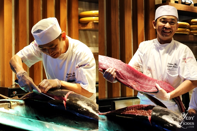 Chef Aki Kawai at Nobu Hotel Brunch Buffet City of Dreams Manila