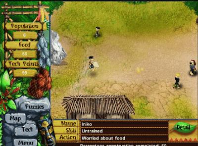 模擬人生之模擬部落(Virtual Villagers),3D卡通模擬村莊建設!