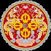 Logo Gambar Lambang Simbol Negara Bhutan PNG JPG ukuran 100 px