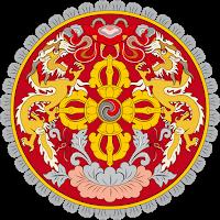 Logo Gambar Lambang Simbol Negara Bhutan PNG JPG ukuran 200 px