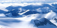 The remote Osborn mountain range on Ellesmere Island in the far north of Canada's Queen Elizabeth Islands archipelago. (Image Credit: Ansgar Walk via Wikimedia Commons) Click to Enlarge.