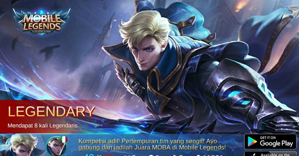 Waktu Bermain Mobile Legends : Anti Noob ~ Putih Abu - Abu