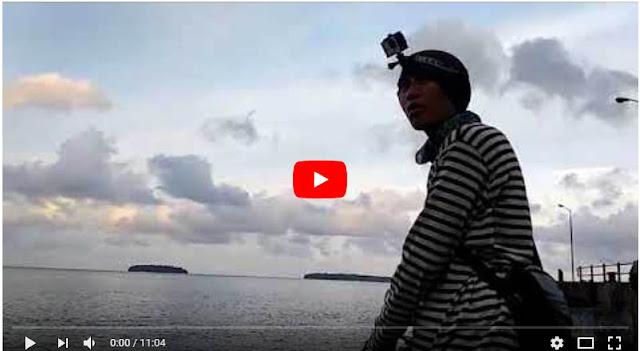 Lagi Asik Mancing, Kapal tongkang datang tabrak Dermaga #VlogMancing12