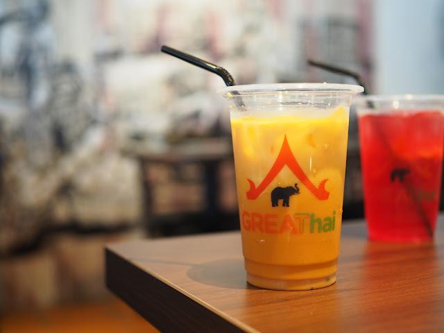 GREAThai Thai Milk Tea