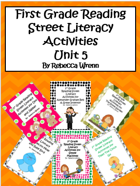Learning With Firsties: First Grade Reading Street Unit 5 Literacy