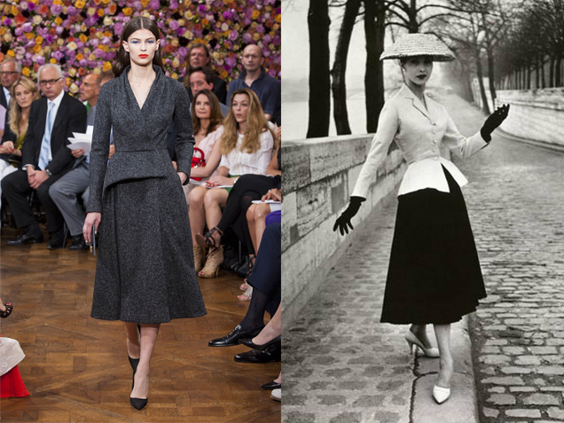 160c84662 Dior assim trabalhou para atender a demanda das mulheres que buscavam um  toque mais feminino e glamouroso.