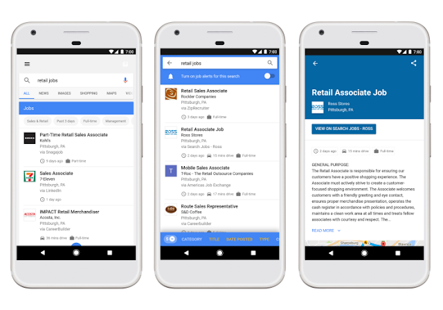 Google Launches its Job Search Engine Features