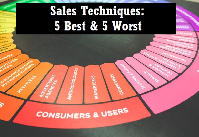 Sales techniques five best and worst
