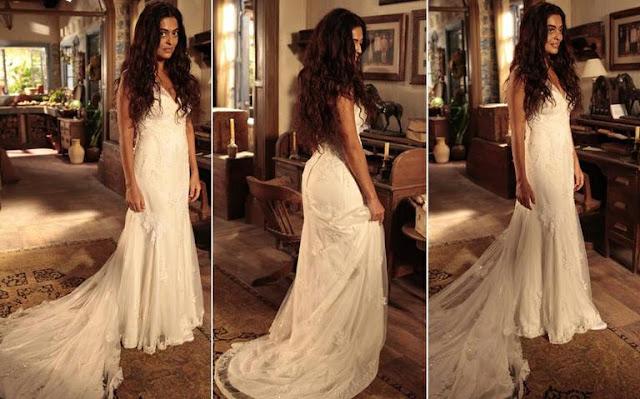 Juliana Paes como Gabriela, vestido de noiva, Lethicia Bronstein