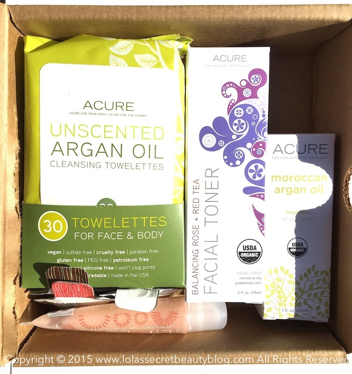 Lola's Secret Beauty Blog: Acure Organics The Glamorganic
