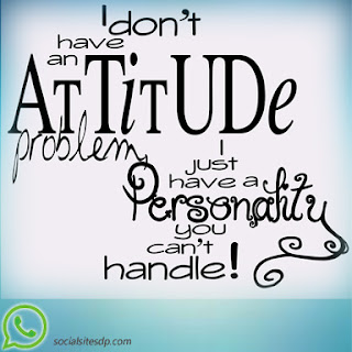 Whatsapp Attitude display picture - dp