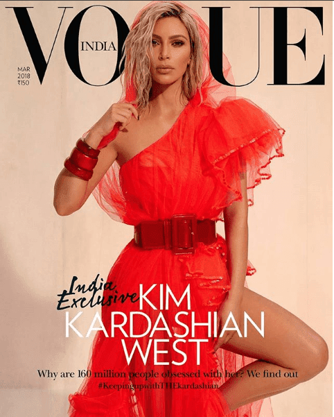 Luxury Makeup - Kim Kardashianr's Vogue India Magazine Cover Makeup Look