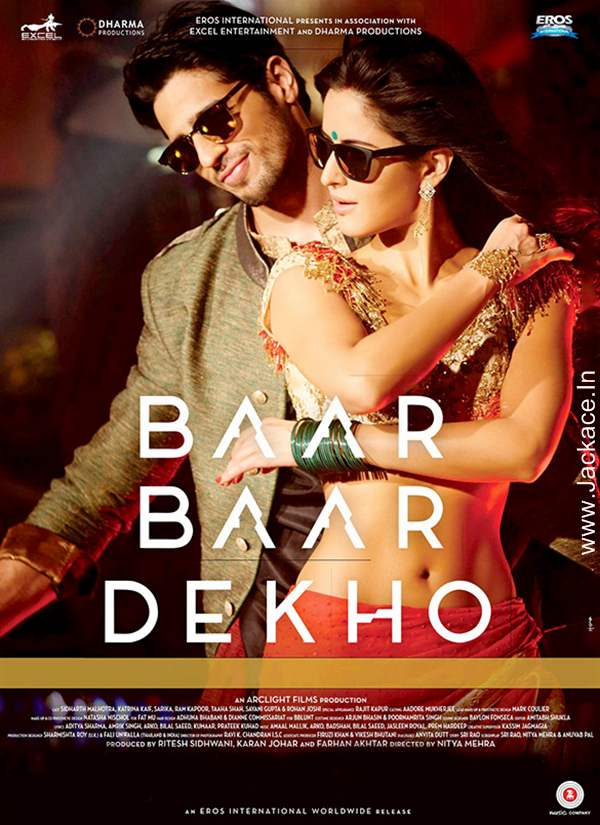 Poster Baar Baar Dekho (2016) Full HD Movie Download 720p Blue-Ray