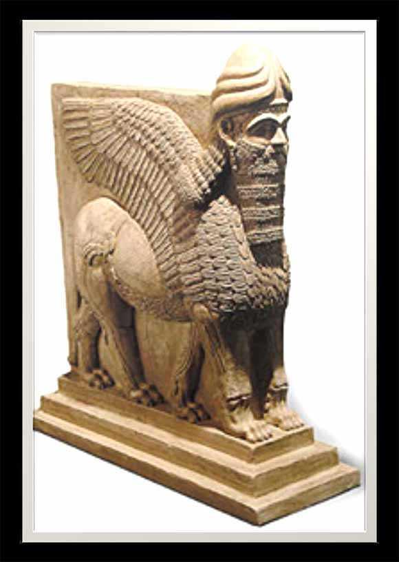 Karya Senirupa Mesopotamia  Seni Rupa
