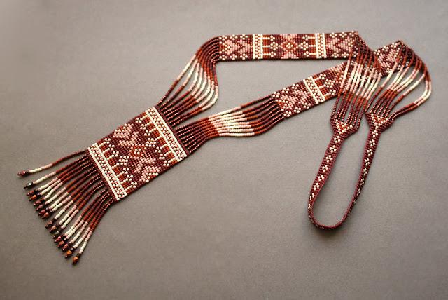 оригинальный авторский гердана из бисера где купить в россии бисерные изделия в стиле бохо
