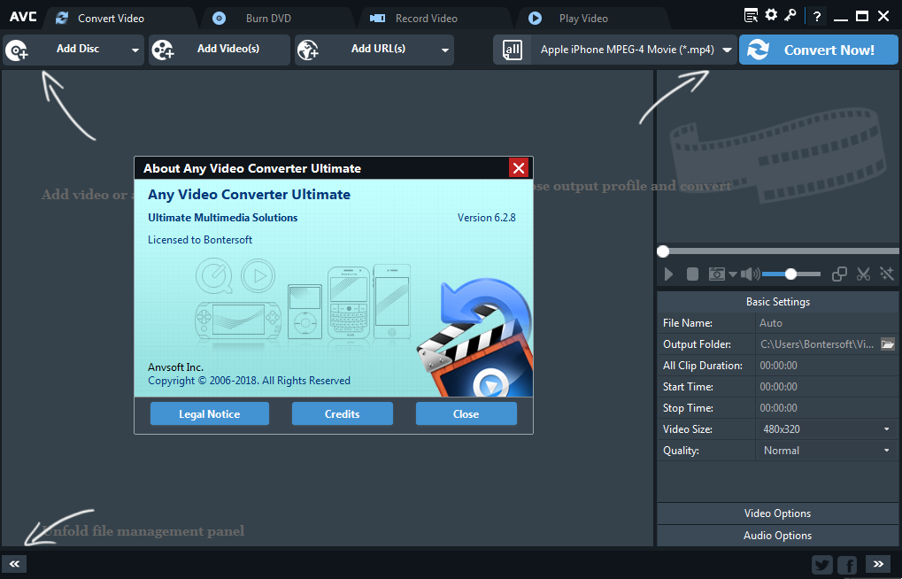 any video converter ultimate 6.2.8 crack