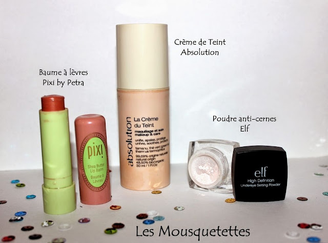 Favoris Make up Pixi, Absolution, Elf - Blog beauté Les Mousquetettes©