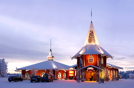 Polo Nord Di Babbo Natale.Ufficio Postale Di Babbo Natale A Rovaniemi In Lapponia