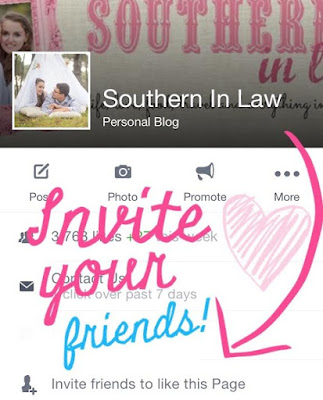 Invite Your Friends to Like Southern In Law