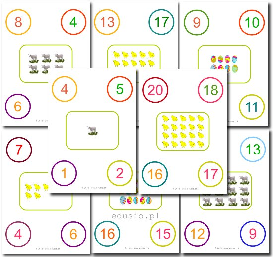 zadania dla przedszkolaków do wydrukowania