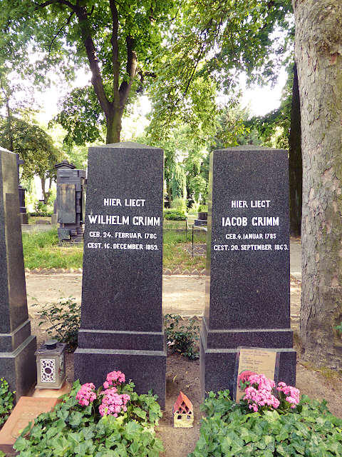 Graves of Brothers Grimm: Jacob and Wilhelm Grimm in Berlin