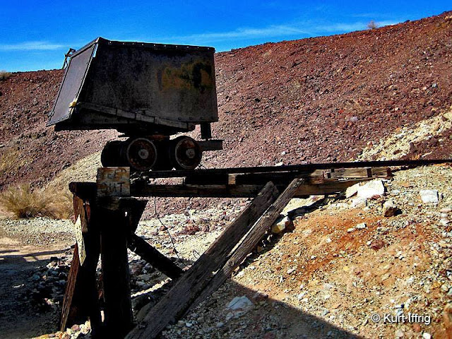 More than 500 mines were dug during Calico's boom. Most were silver mines, some were Borax.