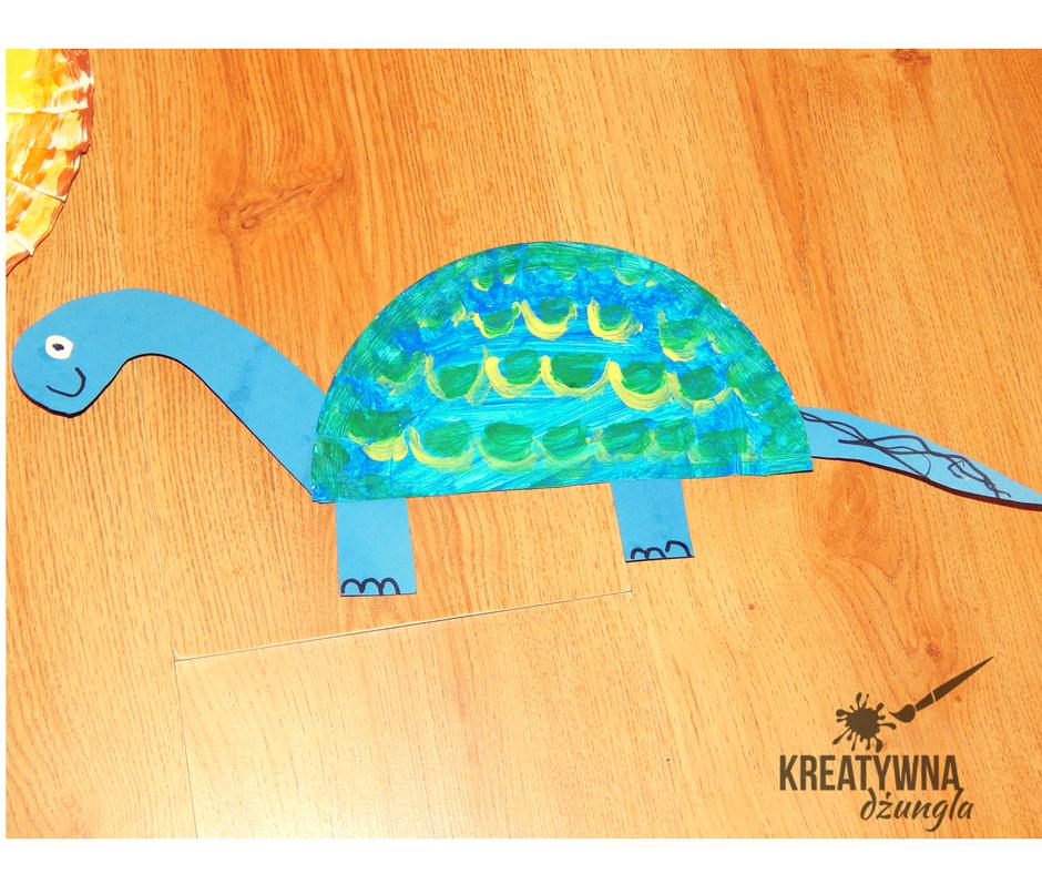 dinozaur praca plastyczna