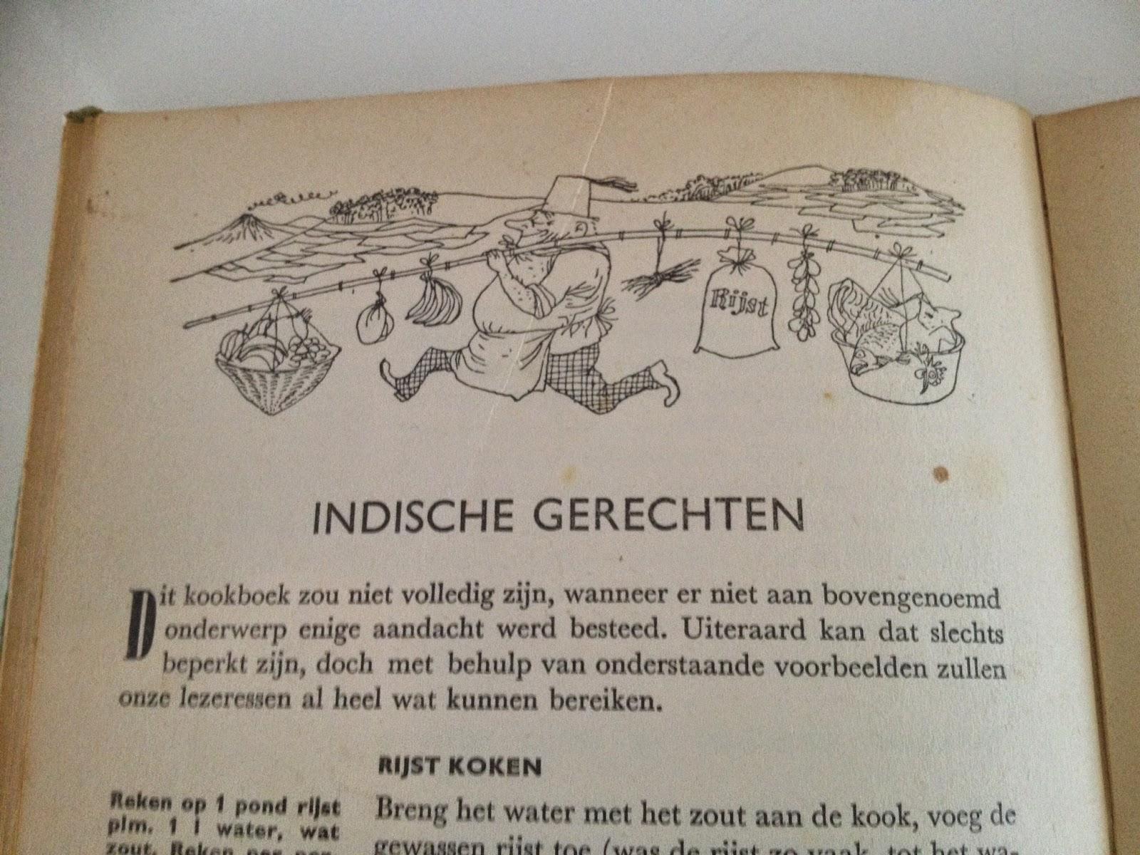 Pagina uit Margriet kookboek