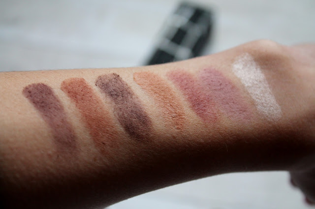 Makeup Geek Favourite Eyeshadow Swatches