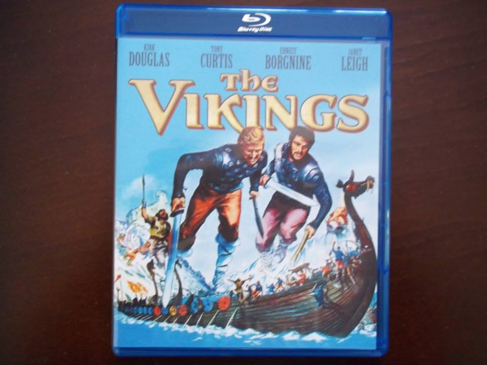 The Hitless Wonder Movie Blog: THE VIKINGS On Blu-ray