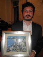 Alessandro Marchetti Guasparini vincitore di 'Gialli sui laghi'