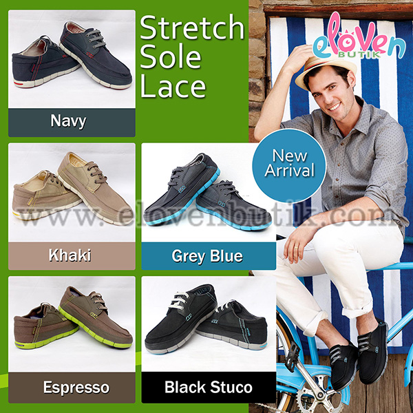 Crocs Strecth Sole Lace