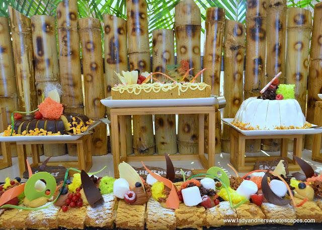 dessert station in Lapita daycation brunch