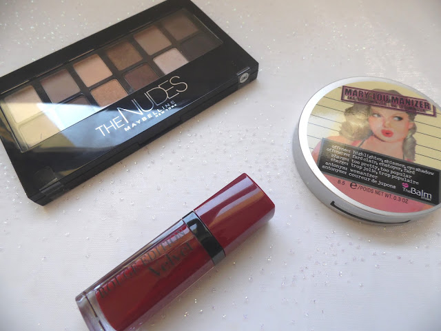 Mon maquillage pour Noël