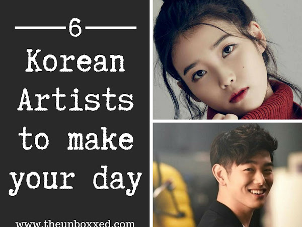 6 Korean Singers that will make your day
