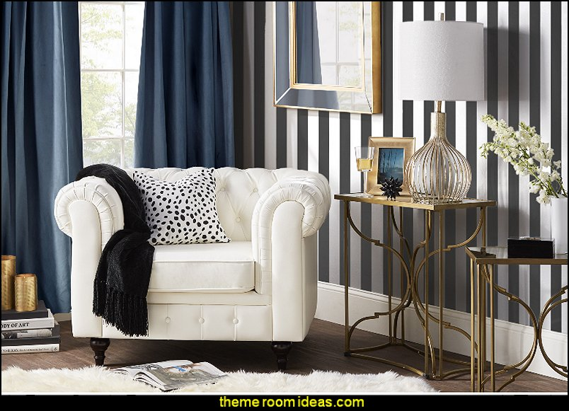 Striped Wallpaper Stripes On Walls   Striped Decorating Ideas   Stripe Wall  Decals   Stripes Bedding