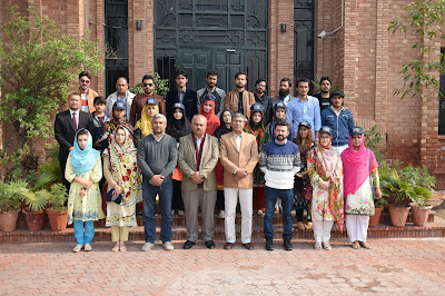 Students from Balochistan visited Virtual University
