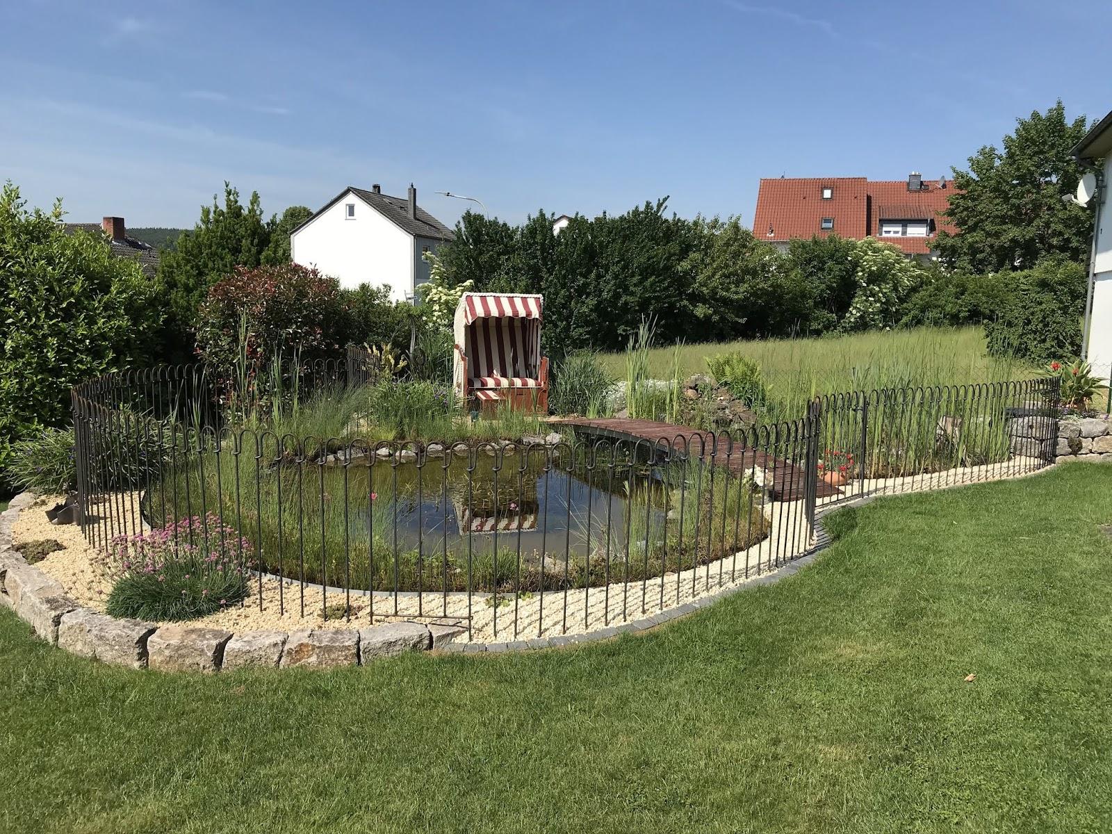 Teich Und Steckzaune Von Www Melabel Be Sehr Schoner Gartenteich