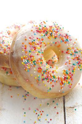Donuts au four , baked donuts, Donna Hay , recette avec de la limonade