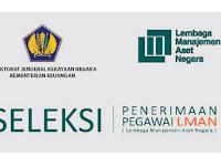 Lembaga Manajemen Aset Negara - Recruitment For Non CPNS Staff LMAN Kemenkeu April 2018
