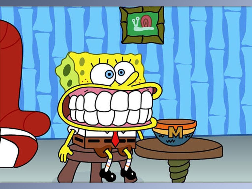 SpongeBob Big Smile Wallpaper , here you can see SpongeBob Big Smile ...