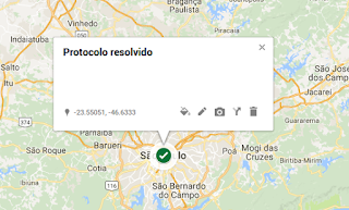 mapa do descaso, diabetes, descaso, protocolo, resolvido